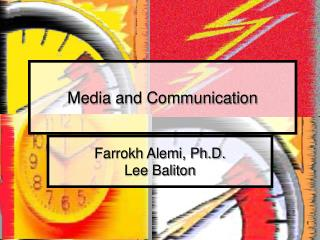 Media and Communication