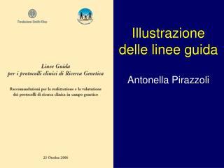 Illustrazione  delle linee guida  Antonella Pirazzoli