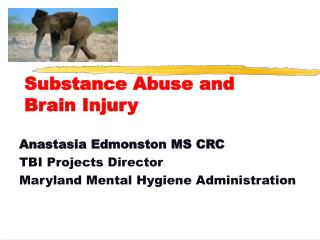 Substance Abuse and Brain Injury