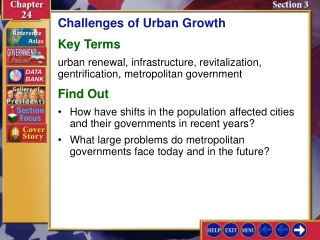 Urban and Rural Issues in Development   Part II