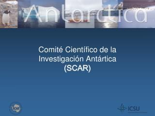 Comit  Cient fico de la  Investigaci n Ant rtica  SCAR