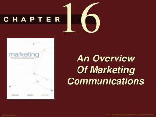 An Overview Of Marketing Communications
