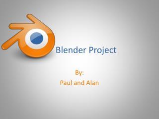 Blender Project
