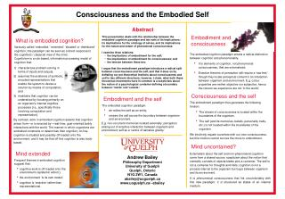 Mind extended Frequent themes in embodied cognition suggest that: cognitive work is off-loaded onto the environment  epi