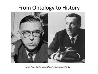 From Ontology to History