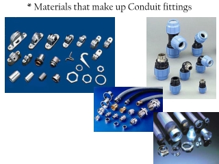 Conduit Fitting Basics