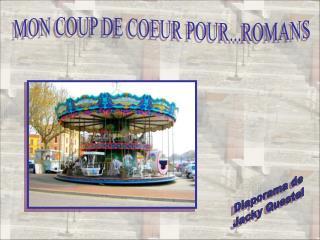 MON COUP DE COEUR POUR...ROMANS