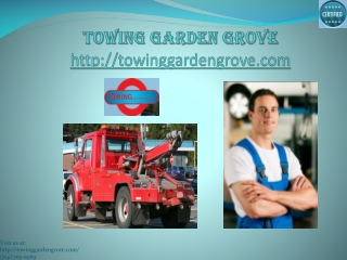 Towing garden