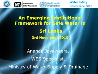 Water Safety  Conference 2010