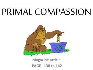 PRIMAL COMPASSION