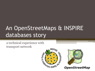 Using OSM data