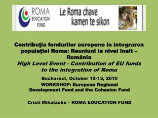 European Fund for Regional Development
