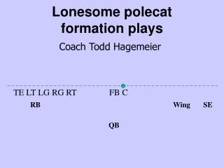 Lonesome polecat formation plays