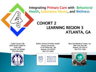 Integrating Primary Care with  Behavioral Health, Substance Abuse, and Wellness
