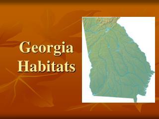 Georgia Habitats
