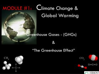 Greenhouse Gases - GHGs           The Greenhouse Effect