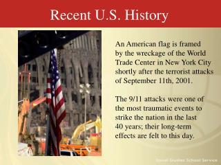 Recent U.S. History