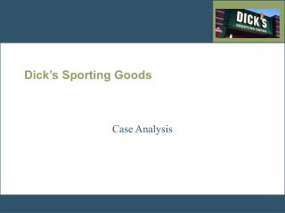 Dick s Sporting Goods