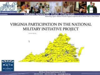 Virginia Participation in the National Military Initiative Project