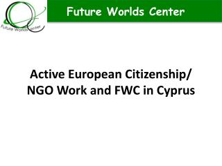 Active European Citizenship