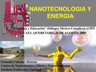 NANOTECNOLOGIA Y ENERGIA