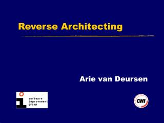 Reverse Architecting