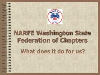 NARFE Washington State Federation of Chapters