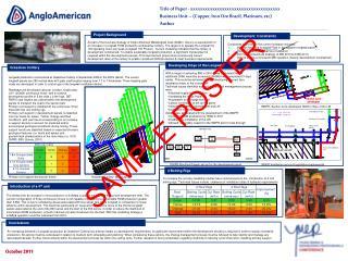Title of Paper - xxxxxxxxxxxxxxxxxxxxxxxxxxxxxxxxxxxxx Business Unit   Copper, Iron Ore Brazil, Platinum, etc Author