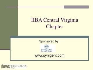 IIBA Central Virginia Chapter