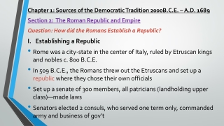 Sources of the Democratic Tradition
