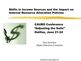 Shifts in Income Sources and the Impact on Internal Resource Allocation Policies