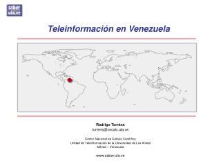 Teleinformaci n en Venezuela