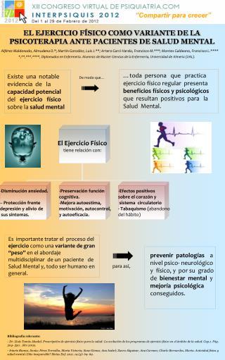 EL EJERCICIO F SICO COMO VARIANTE DE LA PSICOTERAPIA ANTE PACIENTES DE SALUD MENTAL