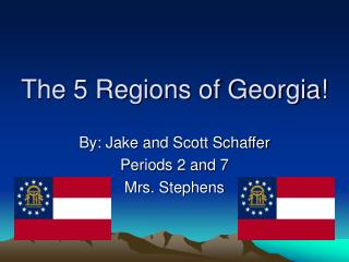 The 5 Regions of Georgia