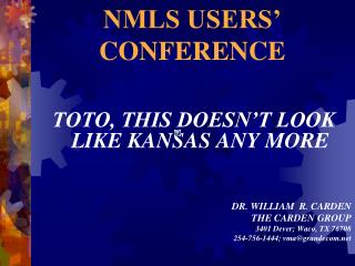 NMLS USERS  CONFERENCE