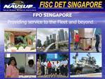 FPO SINGAPORE