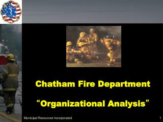 Chatham Fire Department   Organizational Analysis