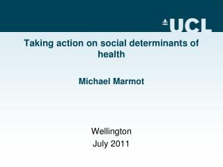 Taking action on social determinants of health
