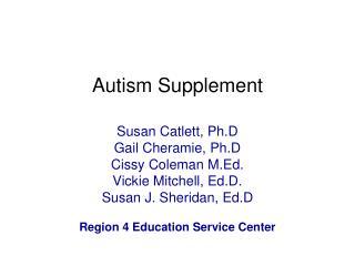 Autism Supplement