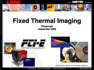 Fixed Thermal Imaging