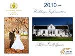 -2010    Wedding Information