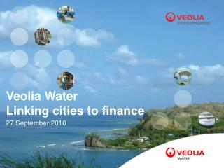 Veolia Water   Linking cities to finance