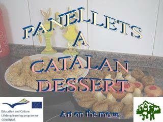 PANELLETS A  CATALAN  DESSERT