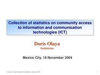 Mexico City, 18 November 2004