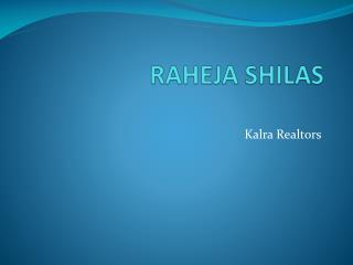 RAHEJA SHILAS LOCATION*9213098617*RAHEJA SHILAS FLOORS* goog