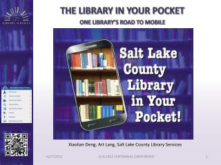 The Library in Your pocket One library s road to mobile