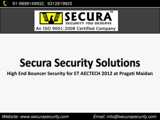 Bouncer Security for Events and Functions at Pragati Maidan