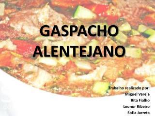 Gaspacho Alentejano