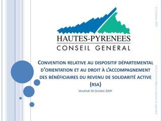 Convention relative au dispositif d partemental d orientation et au droit   l accompagnement  des b n ficiaires du reven