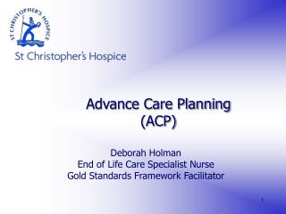 Advance Care Planning ACP
